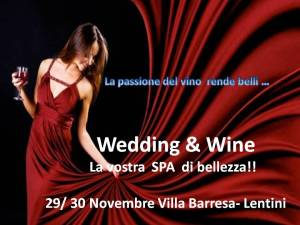 WEDDING E WINE SPA